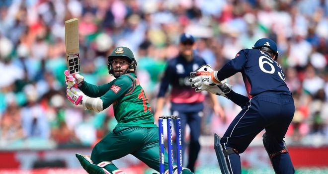 Australia's next opponents Bangladesh suffered defeat in their opening match of the tournament against England