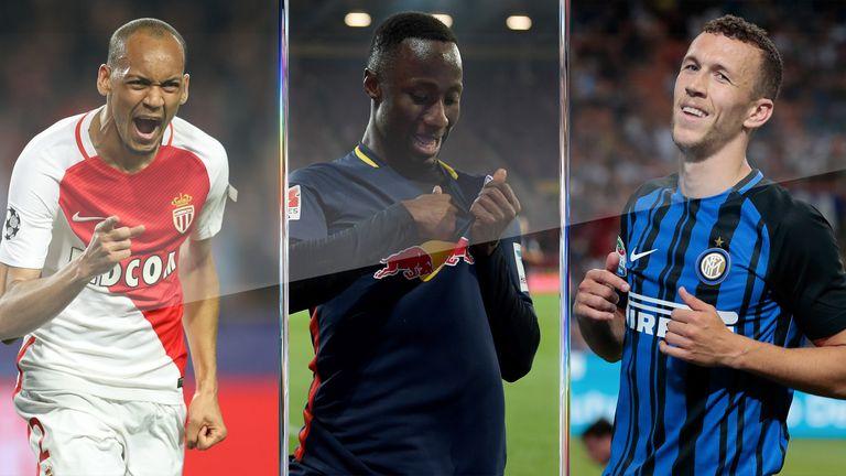 Fabinho, Naby Keita and Ivan Perisic are among the in-demand midfielders around Europe this summer