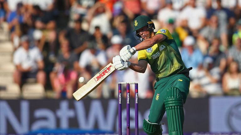 AB de Villiers struck a fifty for the tourists