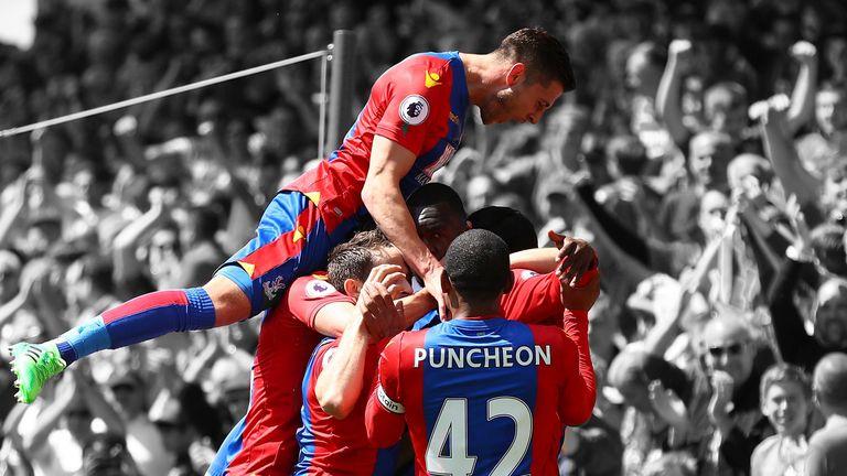 Crystal Palace surged to Premier League survival