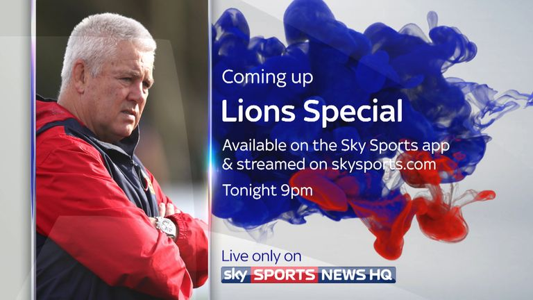 Lions Special Streaming