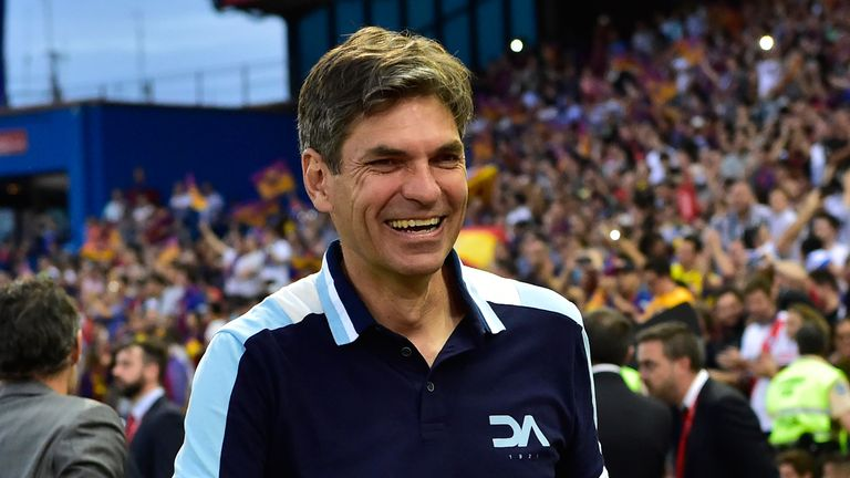 Mauricio Pellegrino during his time at Alaves.