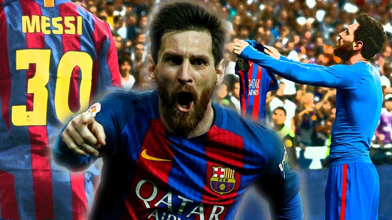 Barcelona forward Lionel Messi turns 30 on Saturday