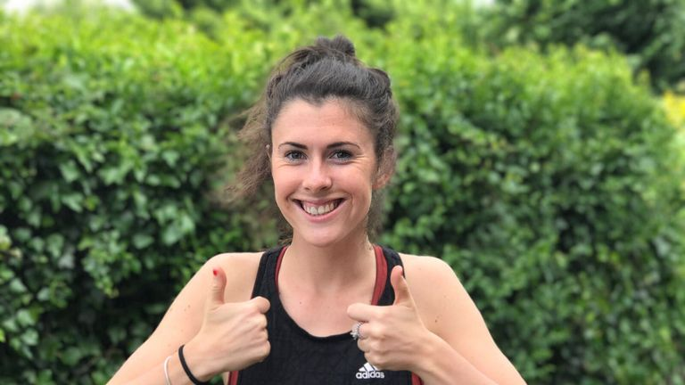 Olivia Breen cannot wait to hit the world stage this summer in London