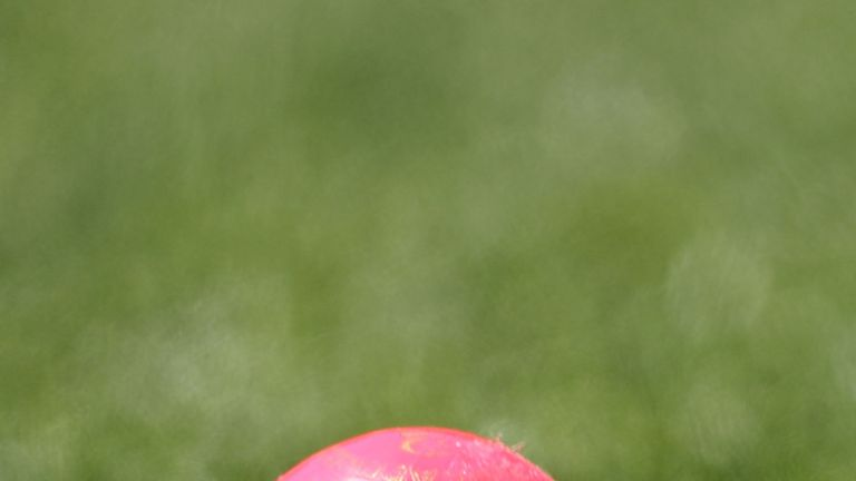 Eight county championship matches will use a pink ball