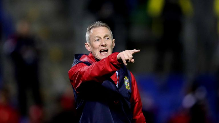 Lions attack coach Rob Howley