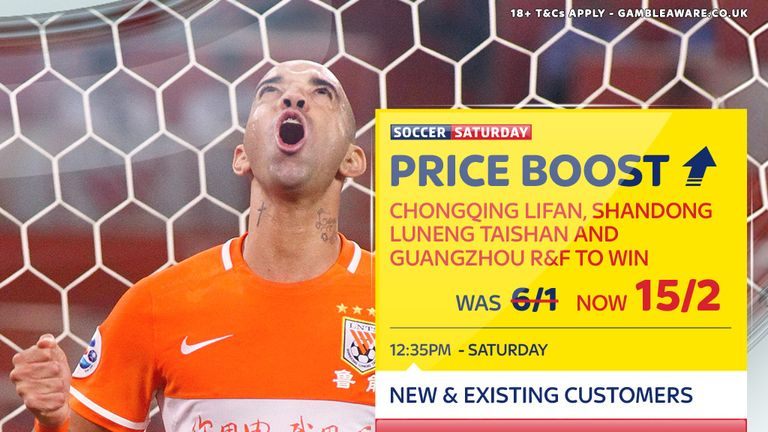 Sky Bet's Soccer Saturday Price Boost for June 24