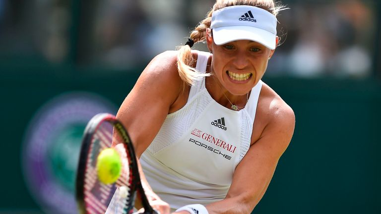 Kerber, Muguruza advance at Wimbledon