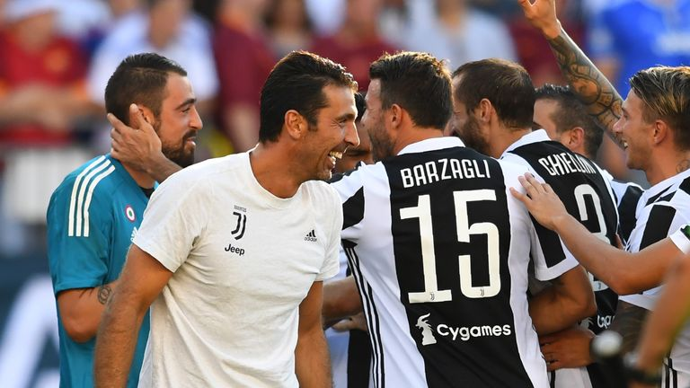 Juventus beat Roma on penalties in the International Champions Cup in Massachussetts