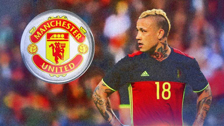 Belgium and Roma midfielder Radja Nainggolan is a target for Manchester United