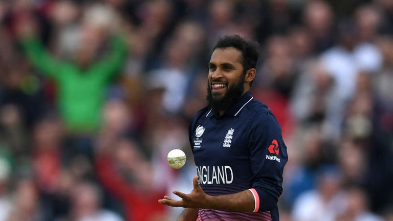 Adil Rashid has taken 38 wickets in his 10 Tests