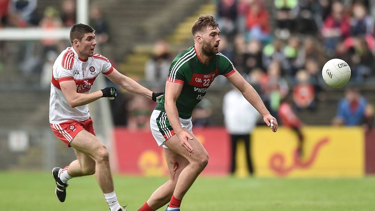 Aidan O'Shea of Mayo made his first start and produced an impressive display