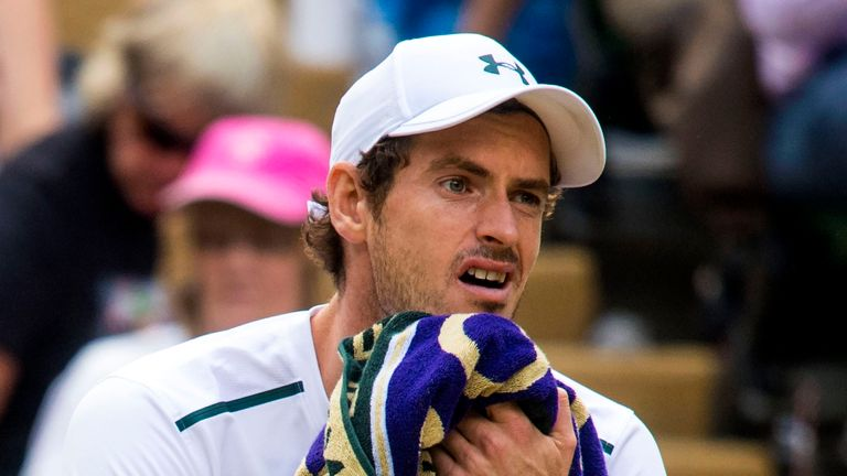 Andy Murray was beaten in the quarter-finals