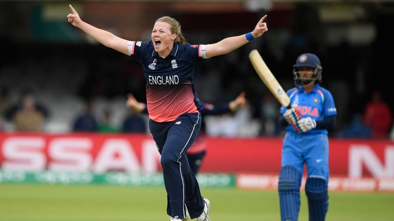 Anya Shrubsole was England's hero in ICC Women's World Cup 2017 Final. Watch England's women try to make it a double in the World T20 in 2018