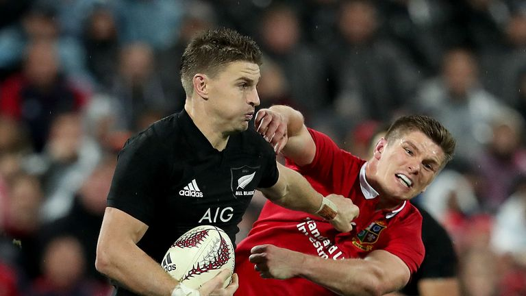 Beauden Barrett pulled the strings for the All Blacks throughout the tour