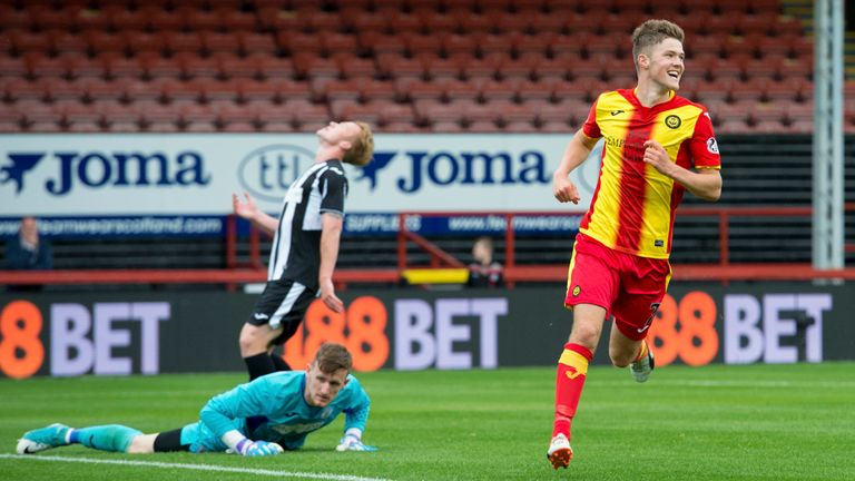 Blair Spittal scored twice as Partick Thistle beat St Mirren