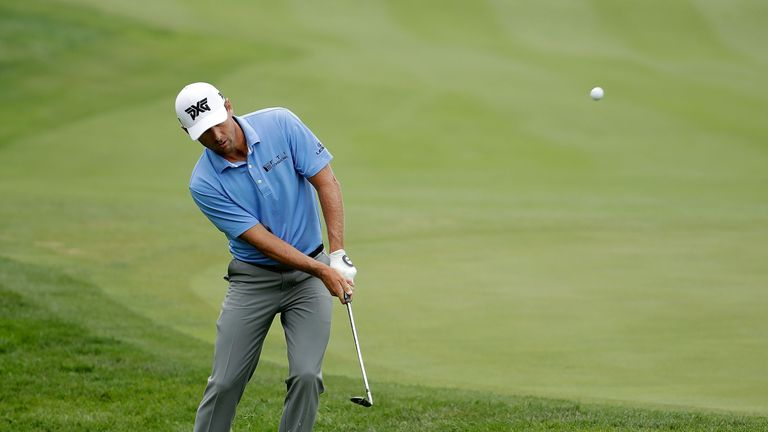 Patrick Rodgers shoots 64, leads by two at the John Deere Classic