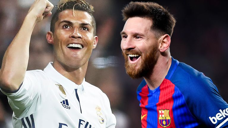 Ronaldo beat Messi to FIFA's 'The Best' prize in London last month - but Messi has more Ballon d'Ors out of the two