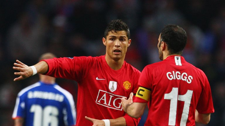 Ronaldo's sensational goal against Porto in 2009 left Giggs speechless