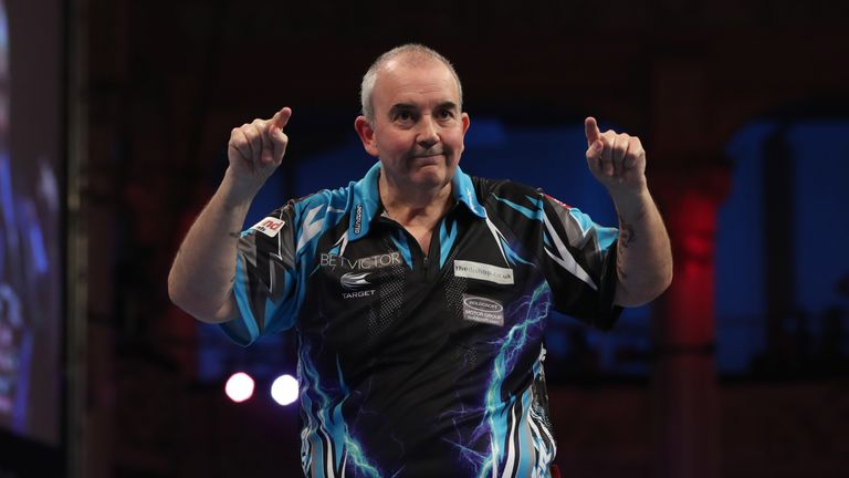 Phil Taylor will wave goodbye from darts at the World Championship