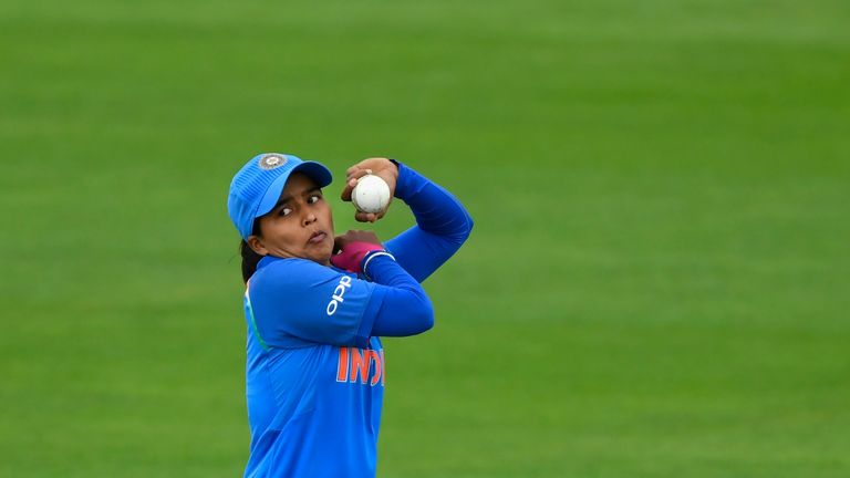 Ekta Bisht was the pick of the Indian bowlers against Pakistan