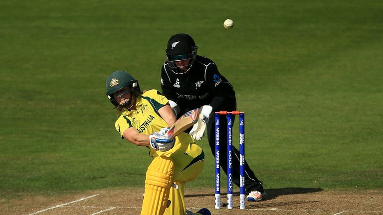 Ellyse Perry top scored for Australia with 71