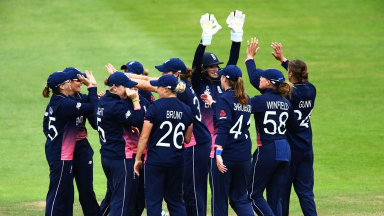 England Women are three from three in Bristol in the Women's World Cup