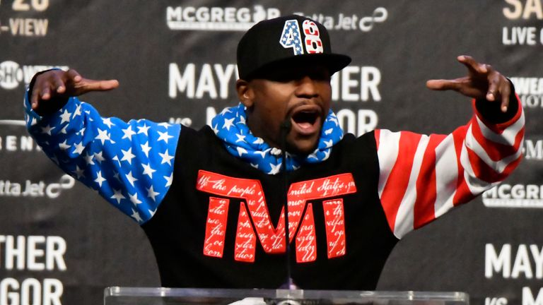 Floyd Mayweather is out of retirement on August 26