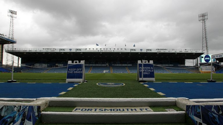 Portsmouth fan dies after friendly