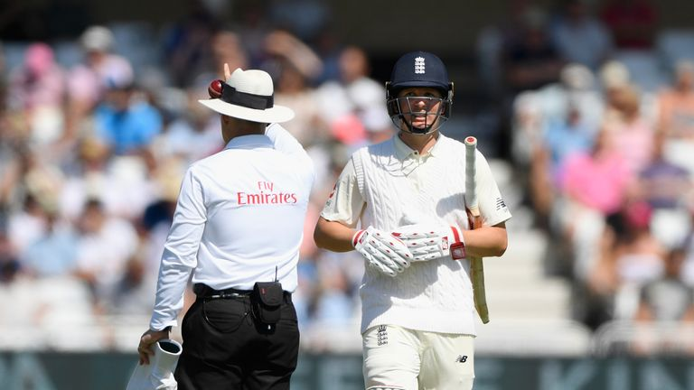 Gary Ballance continues to struggle at Test level