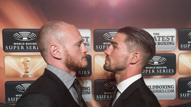 George Groves and Jamie Cox will will fight at London's Wembley Arena