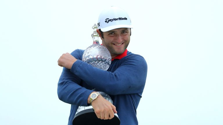 Jon Rahm ended the year third on the Race to Dubai