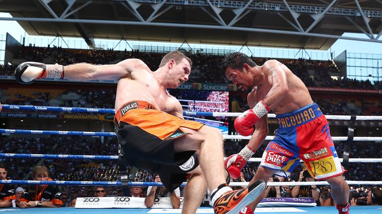 Pacquiao dominated the later rounds but did not do enough to prevent a defeat on the cards