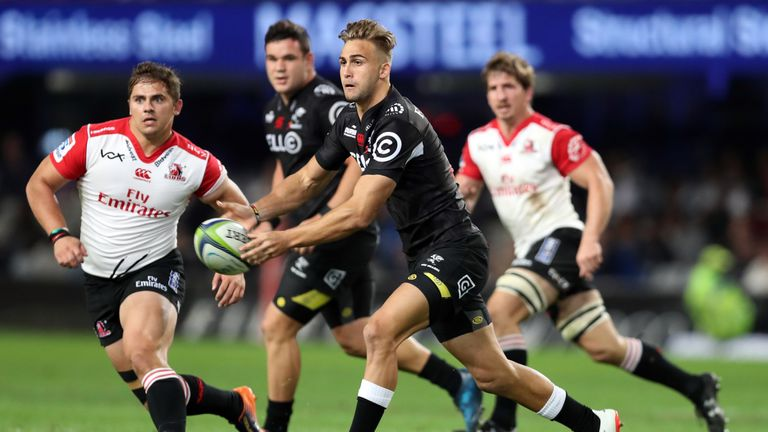 The Sharks will face the Lions for the third time in this year's Super Rugby season