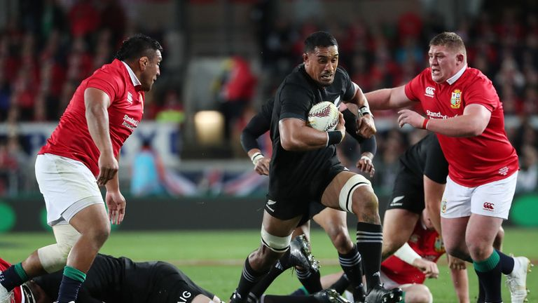 Matt Stevens feels that the presence of Jerome Kaino gave New Zealand an edge to their game