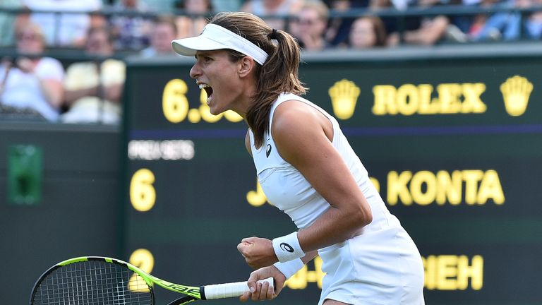 Jo Konta recuperates to overpower Hsieh Su-Wei at Wimbledon opener