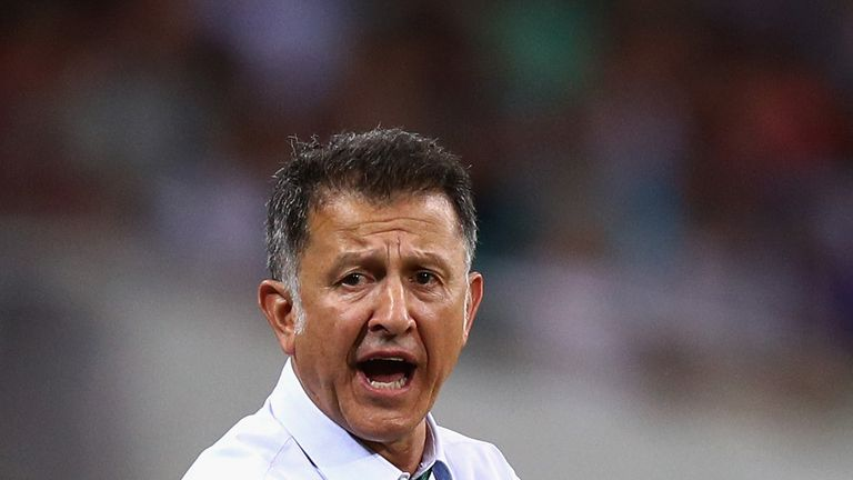 Mexico coach suspended by Federation Internationale de Football Association , will miss Alamodome match
