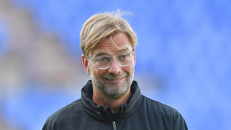 Liverpool manager Jurgen Klopp during the pre-season friendly at against Tranmere
