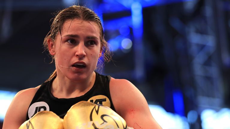 Katie Taylor stormed the women's lightweight division in 2017. Follow her career on Sky Sports in 2018