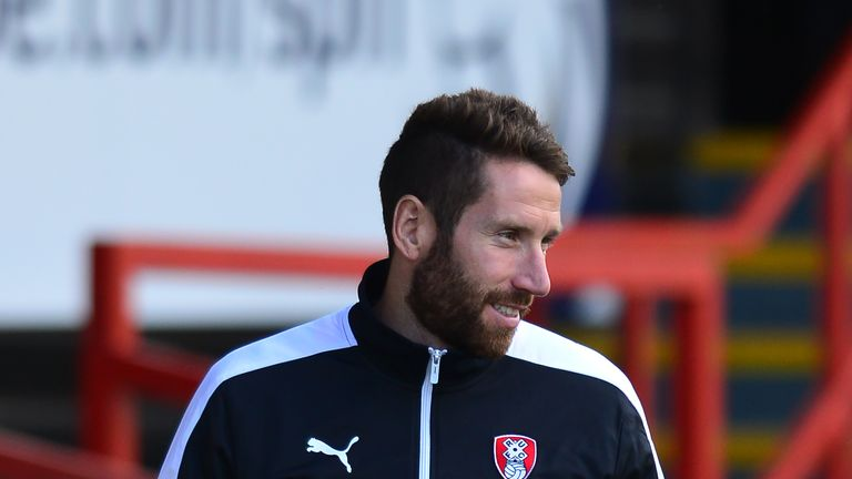 New Kilmarnock signing Kirk Broadfoot during his spell at Rotherham United