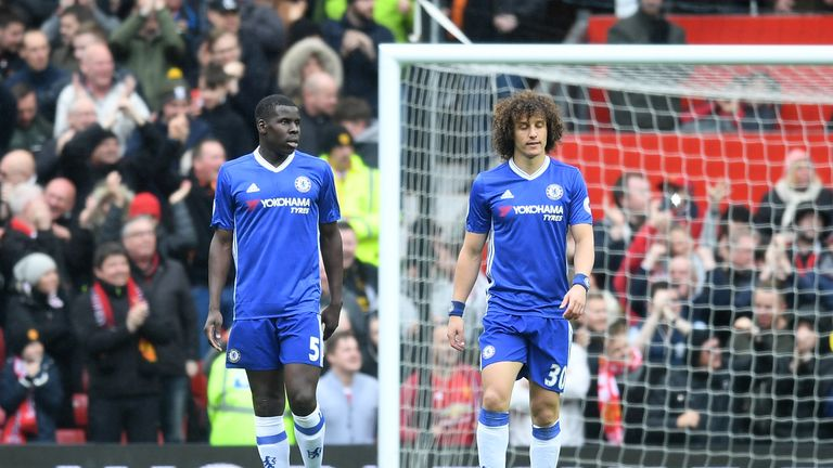 West Brom to hold talks with Chelsea defender Kurt Zouma