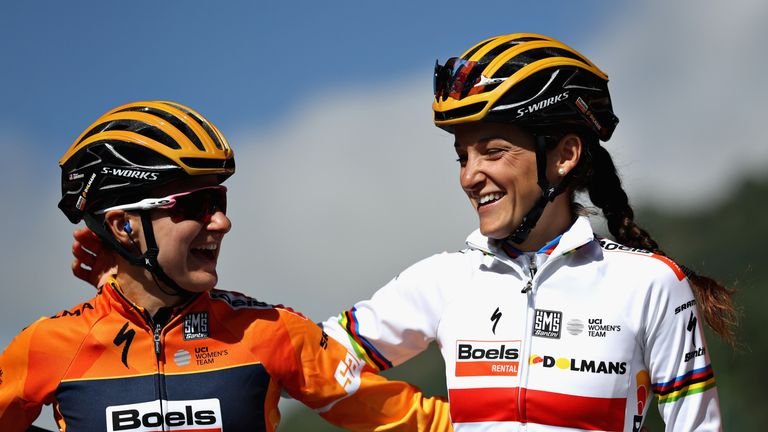 Yorkshire's Lizzie Deignan clinches second in France