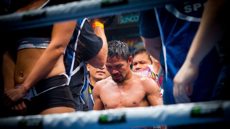 Manny Pacquiao is resisting calls to retire
