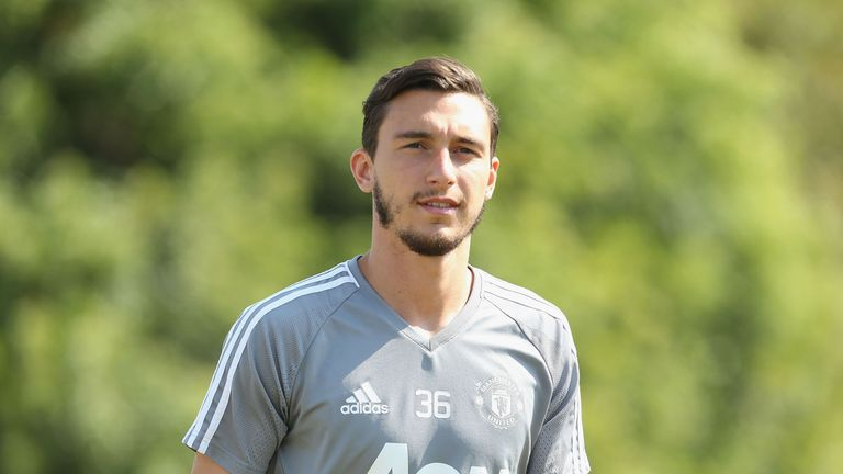 Matteo Darmian is currently on Manchester United's pre-season tour