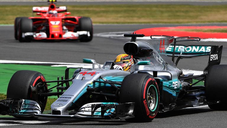 Mercedes Has Now Won Twice As Many 2017 Races As Ferrari   And Lewis  Hamiltonu0027s Dominance Of The British GP Was Total, The Ferraris Destroying  Their Tyres ...