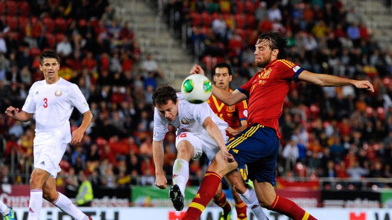 Michu made one appearance for Spain