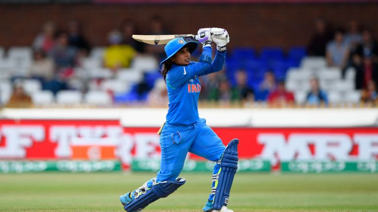 India's Mithali Raj surpassed Charlotte Edwards at the top of the run-scoring charts