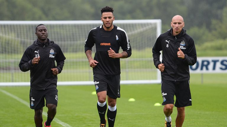 "Newcastle's early pre-season work has been ""heavy on fitness"" training"