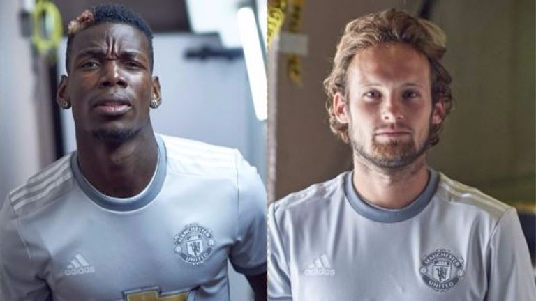 Man United Unveil Third Kit For 2017/2018 Season