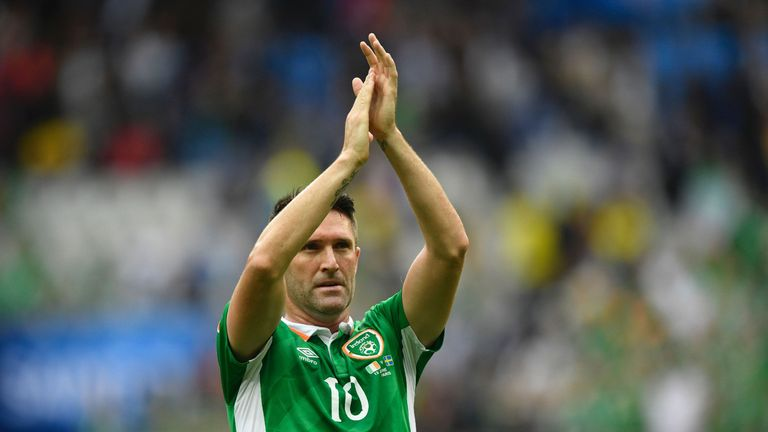 Keane retired from international football after Euro 2016 having earned 146 caps and scored 68 goals for the Republic of Ireland